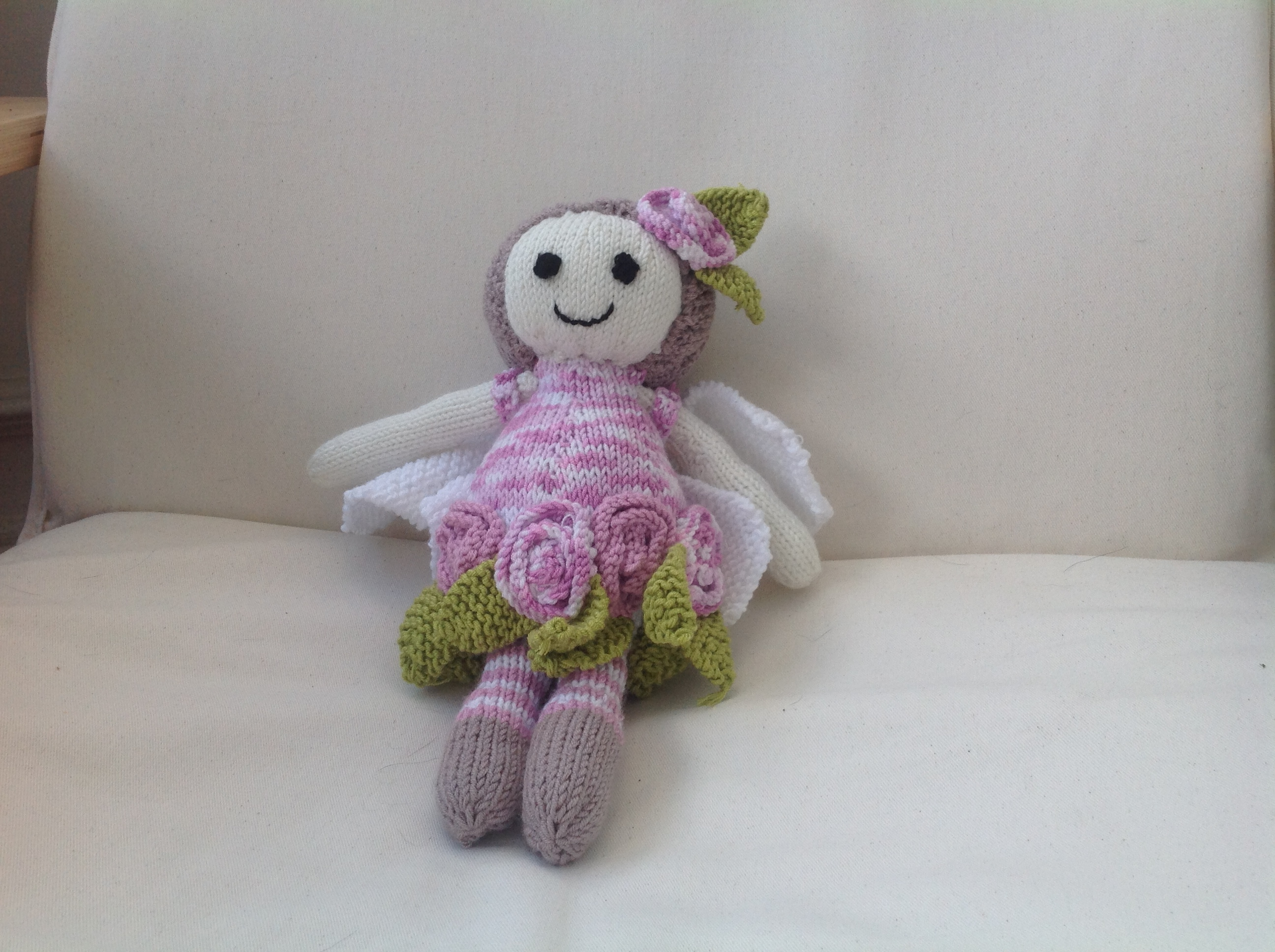 knitted flower fairy | Molly Mixtures